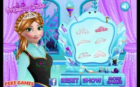 Frozen Anna's Make Up Walkthrough