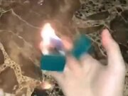 Playing Around With A Lit Lighter
