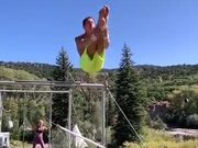 Some Amazing Trapeze Stunts