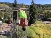 Some Amazing Trapeze Stunts