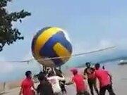 Volleyball Of Gargantuan Proportions