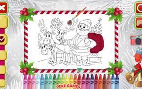 Christmas Coloring Book Walkthrough