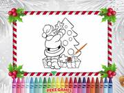 Christmas Coloring Book Walkthrough