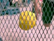 Slow Motion + Water Balloons + Wire Fence = Magic!