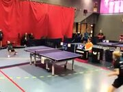 Most Intense Table Tennis Match Ever