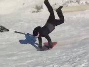 Downhill Sliding Goes Pretty Wrong