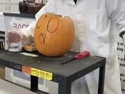 Chemistry + Halloween Pumpkin = Amazing Results