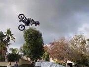 Kid Pulls Off A Sick BMX Stunt!