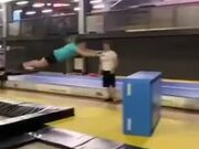 Gymnastics Practice Didn't Go According To Plan