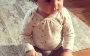 Toddler's Already Done With Life!