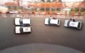 India's Stuntmen In The Wall Of Death