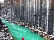 Glacier Looks Like Straight Out A Fairytale