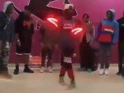 Some Mad Dance Skills And Lights!