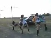 Did These Dancers Get Photobombed By An Airplane!?