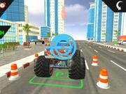 Monster Truck City Parking Walkthrough