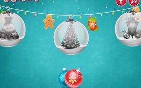 Princesses Christmas Glittery Ball Walkthrough