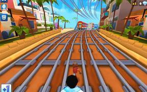 Railway Runner 3D Walkthrough