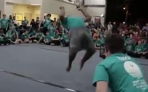 This Guy Is A Backflip Machine!