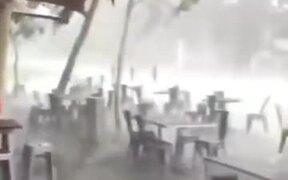 Horrible Hailstorm In Australia