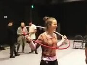 When Hula Hooping Isn't Just Child's Play Anymore!