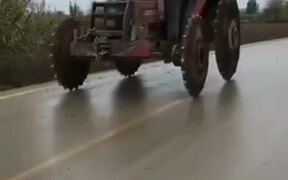 What Is This Tractor From Hell?!