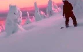 Winter Landscape Looks Like Of A Disney Movie