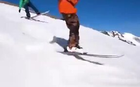 These Guys Skiing Really Know What They're Doing!