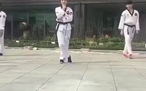 Mixing Martial Arts With Dance!