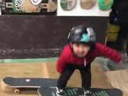 This Little Kid Will Grow To Be Stunts Guy!