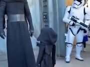 Star Wars Cosplays With Kids Are Always Awesome!