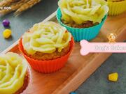 Apple Banana Muffins