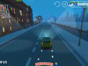 3D Night City: 2 Player Racing Walkthrough