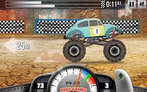 Racing Monster Trucks Walkthrough