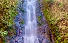 The Butterfly Falls In Belize Is Nature's Beauty
