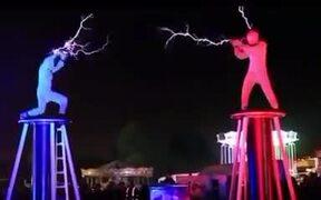 Battling With Lightning!