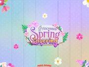 Princesses Spring Layering Walkthrough