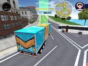 City Driving Truck Simulator 3D 2020 Walkthrough