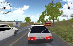 Russian Car Driver HD Walkthrough