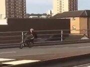 Guy Pulls Of Some Absolutely Amazing BMX Stunts!