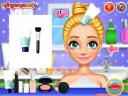 Blondie Princess Summer Makeup Walkthrough