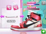 DIY Trendy Sneakers Walkthrough