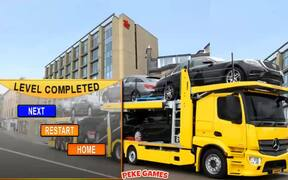 Car Transport Truck Walkthrough 2