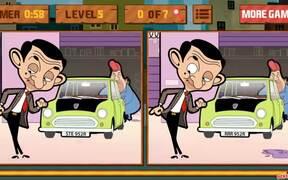 Mr. Bean's Car Differences Walkthrough