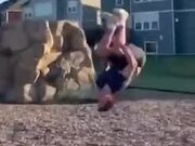 Never Try A Flip Jump With A Heavy Head