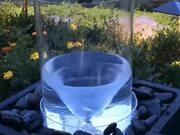 Small Artificial Water Tornado