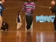 Dancing While Rope Skipping
