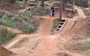 Cycle Jump Gone Wrong