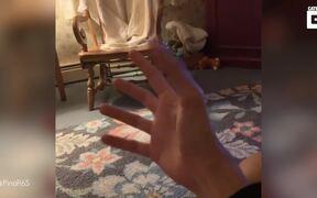 His Crazy Thumb
