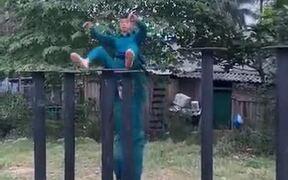 Practicing The Vietnamese Lion Dance