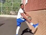A Never Seen Basketball Trick